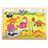 Bino Puzzle - Dinosauři - Puzzle