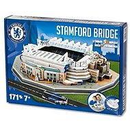 3D Puzzle Nanostad UK - Stamford Bridge fotbalový stadion Chelsea - Puzzle
