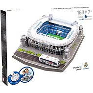 3D Puzzle Nanostad Spain - Santiago Bernabeu fotbalový stadion Real Madrid - Puzzle