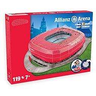 3D Puzzle Nanostad Germany - Allianz Arena fotbalový stadion Bayern Munchen - Puzzle