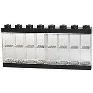 LEGO Sběratelská skříňka na 16 figurek - černá - Stavebnice