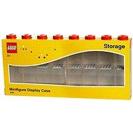LEGO Sběratelská skříňka na 16 figurek - červená - Stavebnice