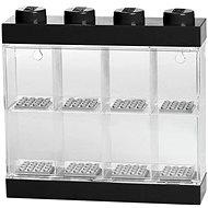 Úložný box LEGO Sběratelská skříňka na 8 figurek černá