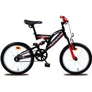 Olpran Miki červeno/černé - Dětské kolo
