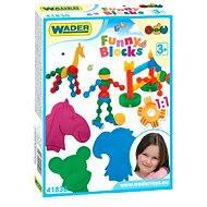 Wader - Funny 36 ks - Stavebnice