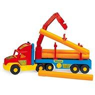 Wader - Super Truck - Stavební s rourami - Auto