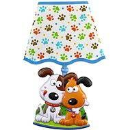 Dětská lampička na zeď - Psi - Dětská lampička