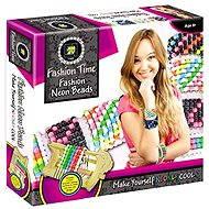 Fashion Time - Výroba neónových korálků - Kreativní sada