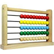 Dřevěné počítadlo - Vzdělávací hračka