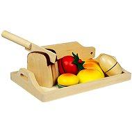 Dřevěné potraviny - Snídaně - Herní set