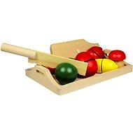 Dřevěné potraviny - Ovoce a zelenina - Herní set