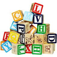 Hrací kostky - Písmena & čísla - Herní set