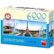 Dino Pohled na Eiffelovku - Puzzle