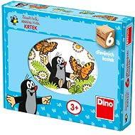 Dino Dřevěné puzzle - Krteček - Puzzle