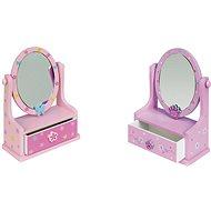 Šperkovnice - Zrcadlo se zásuvkami - Herní set