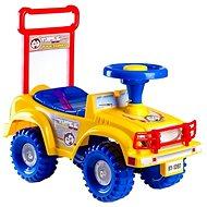Odrážedlo auto Jeep Yupee žluté - Odrážedlo