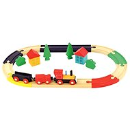 Bino Train Set Oval - Train Set