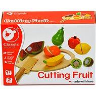 Herní set Ovoce krájecí s prkénkem