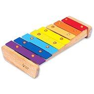 Duhový xylofon - Hudební hračka