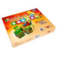 Topa dřevěné kostky kubus - Pohádky 20 ks - Obrázkové kostky