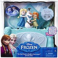 Ledové království - Hudební šperkovnice Anna/ Elsa - Herní set