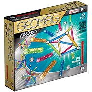 Geomag - Glitter 30 dílků - Magnetická stavebnice