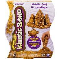 Kinetic Sand - 454 g Metalic zlatá - Kreativní sada