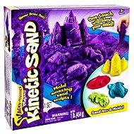 Kinetický písek - Box 454 g fialová barva - Kreativní sada