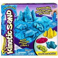 Kinetický písek - Box 454 g modrá barva - Kreativní sada