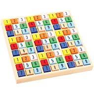 Barevné dřevěné sudoku - Hra