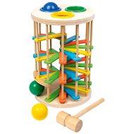 Zatloukačka - Věž s kuličkami velká - Herní set