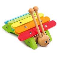 Dětské hudební nástroje - Xylofon šnek - Hudební hračka