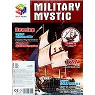 Třívrstvé pěnové 3D puzzle - Historická plachetnice loď Mystic - Puzzle