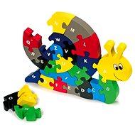 Vkládací puzzle - Šnek - Didaktická hračka