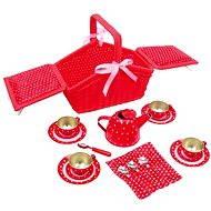 Piknikový červený koš - Sarah - Herní set