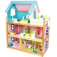 Dřevěný domeček pro panenky - Residence - Doplněk pro panenky