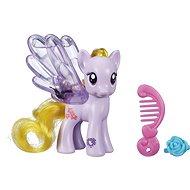 My Little Pony - Průhledný poník Lily Blossom s třpytkami a doplňkem - Figurka
