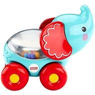 Fisher-Price Tyrkysový slon s kuličkami - Didaktická hračka