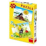 Dino Krteček svět - Puzzle