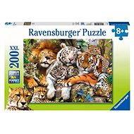 Ravensburger 127214 Velké kočky - Puzzle