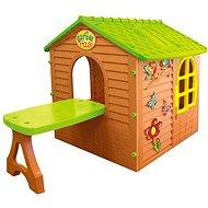 Dětský zahradní domeček se stolem - Dětský domeček