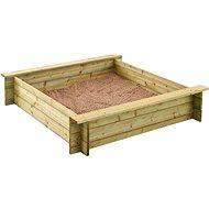 Dřevěné pískoviště 120 cm ALIX - Pískoviště