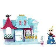 Frozen mini panenka - Hrací sada Elsa a Ledový obchod - Herní set