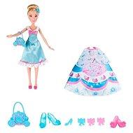 Disney Princess - Panenka Popelka s náhradními šaty - Panenka