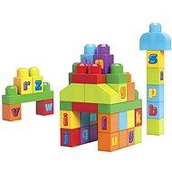 Mega Bloks - 1 2 3 ABC Kostky - Stavebnice