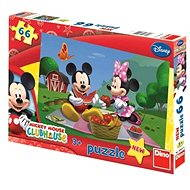 Dino Mickey Mouse na pikniku - Puzzle