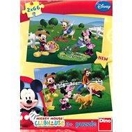 Dino Mickeyho klubík - Na farmě - Puzzle