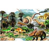 Dino Život dinosaurů - Puzzle