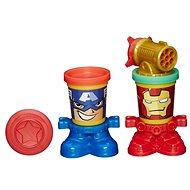 Play-Doh - Kelímky ve tvaru hrdinů Marvel - Kreativní sada
