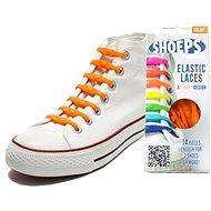 Shoeps - Silikonové tkaničky holanská oranžová - Sada tkaniček